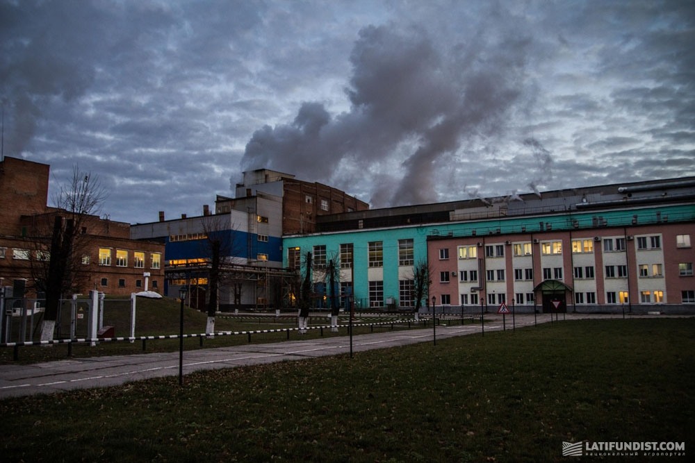 Яреськовский сахарный завод